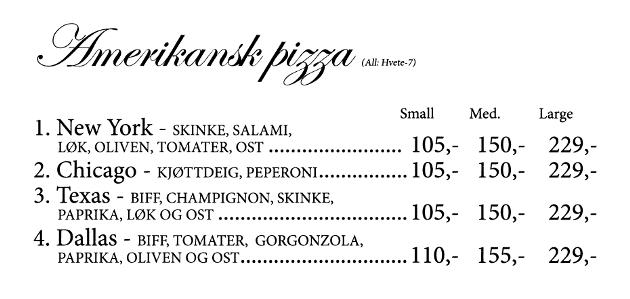 Gamle Nabo - meny - 07 - Amerikansk pizza